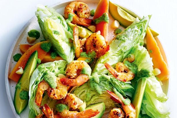 Barb-B-Cue Prawn Salad