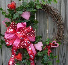 Perfect Valentine Wreath