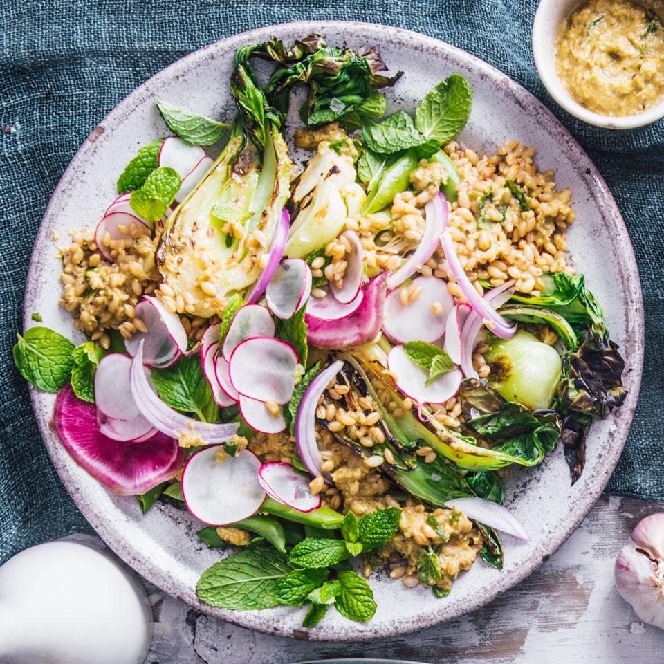 Barley & Sugar Pea Salad