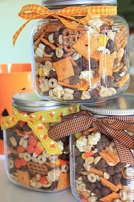 Autumn Snack Jars