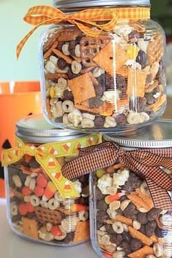 Autumn Snack Jars