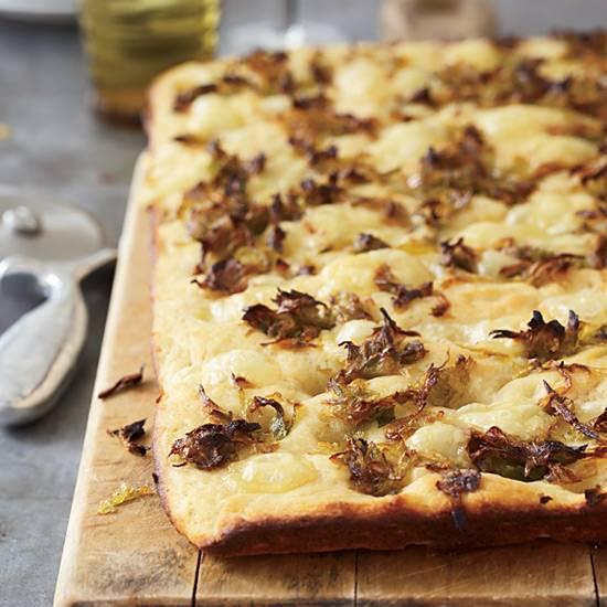 Potato & Leek Focaccia