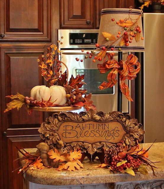 Autumn Kitchen Decor