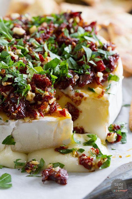 Sun-Dried Tomato Brie