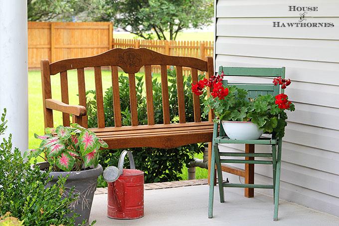 Summer Porch w/Florals