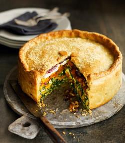 Butternut Squash & Spinach Pie