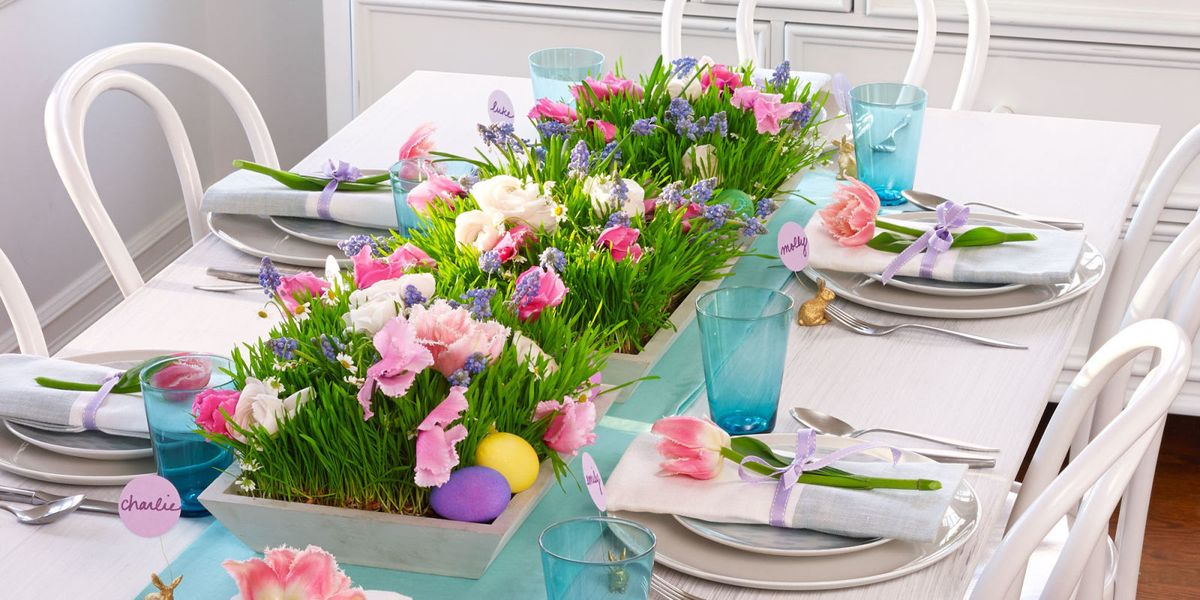 Spring Garden Setting