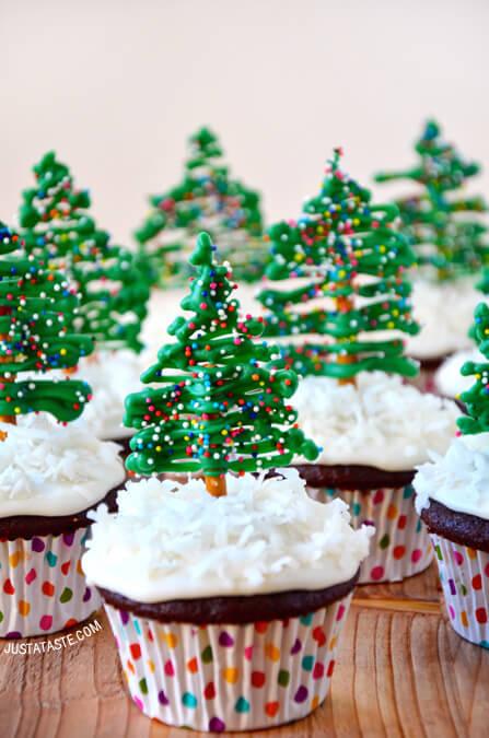 Tree Top Cupcakes