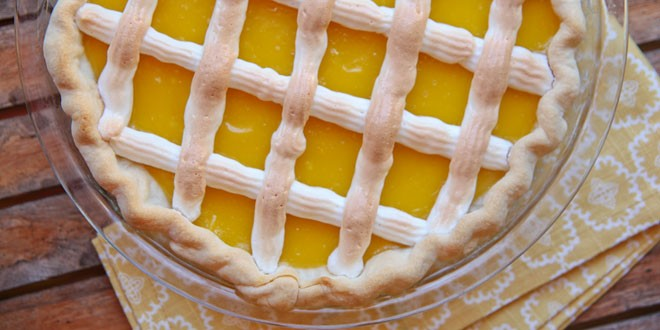 Springtime Lemon Tart