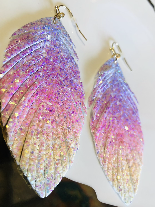 Glitter 🌈  Rainbow Earringa