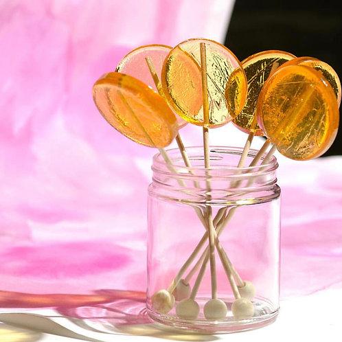 Organic Crushed Lavender Honey Lollipops