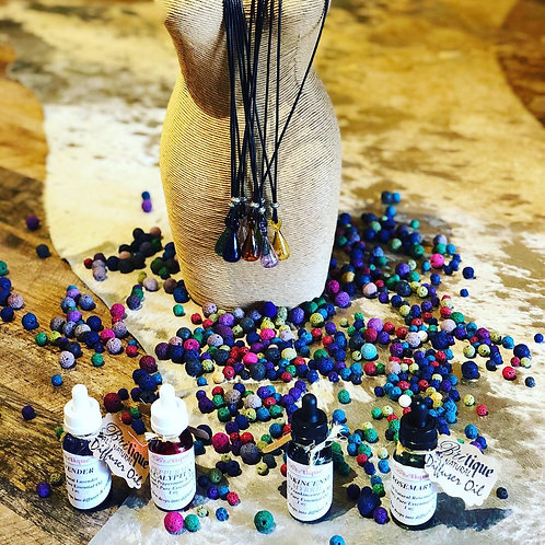 Oil Diffuser Glass Vial Necklace