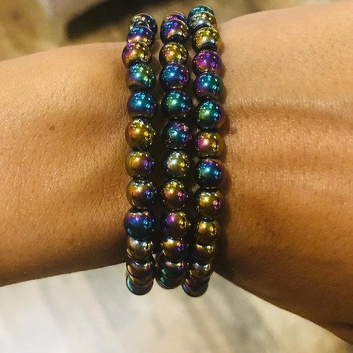 Rainbow Hematite {Peace}