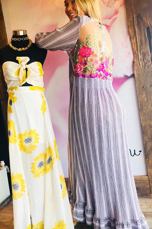 Violet Islander Dress