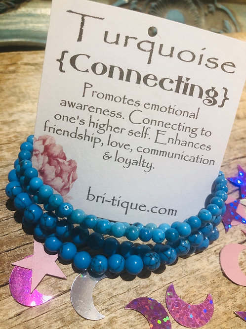 Turquoise { Connecting }