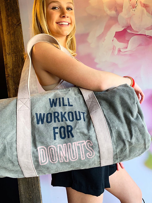 Will Work Out for Doughnuts 🍩 🏋️‍♂️