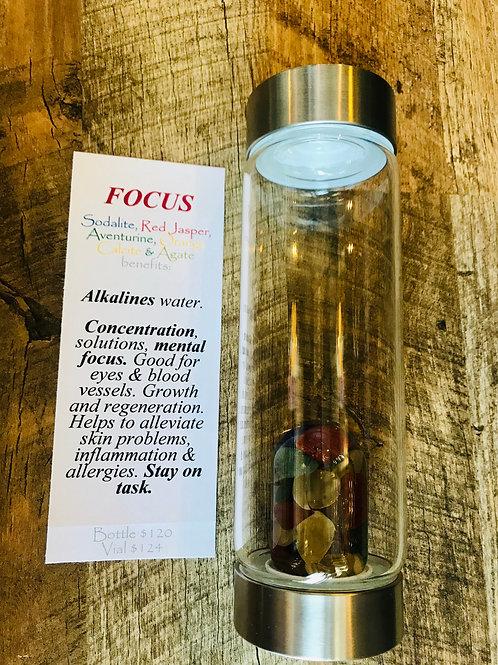 Focus/Kids Gem Water Bottle
