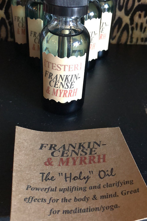 Frankincense & Myrrh Essential Oil