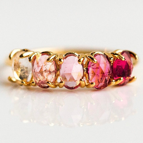 July Ombré Birthstone Ring