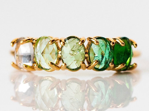 May Ombré Birthstone Ring