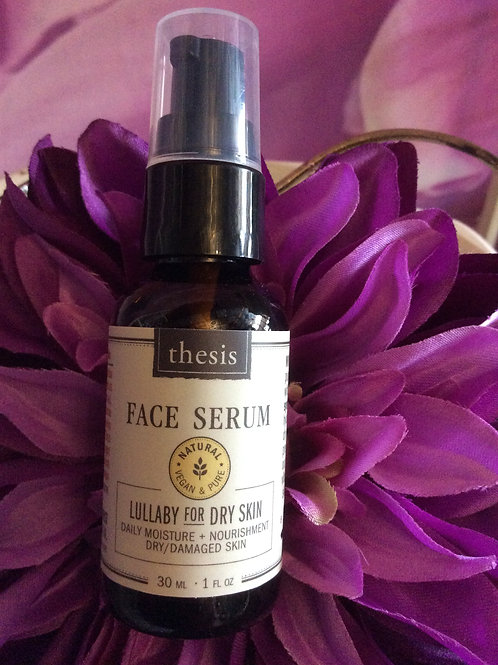 Face Serum Organic Lullaby for Dry Skin