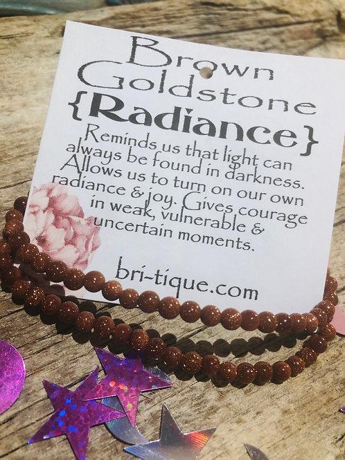 Brown Goldstone {Radiance}
