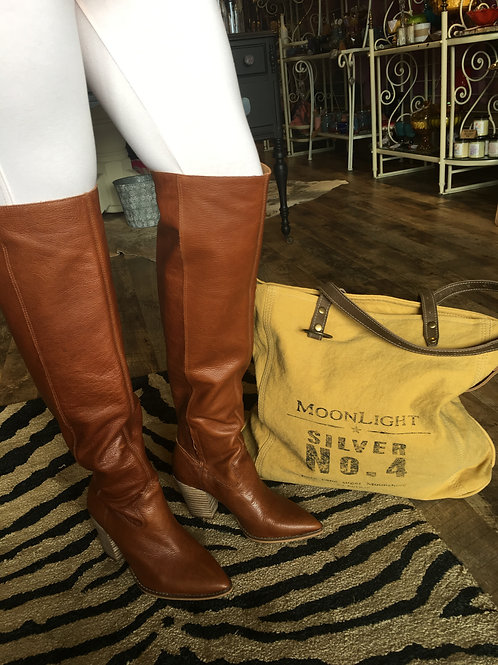 Buckskin Over-the-Knee Boots