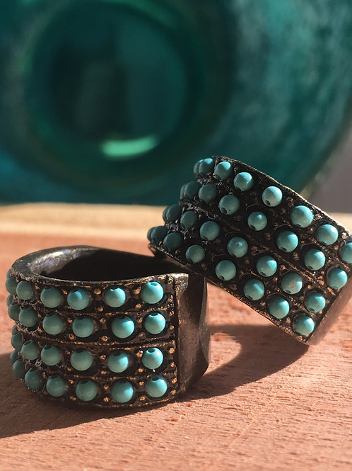 Turquoise Beauty of a Ring!