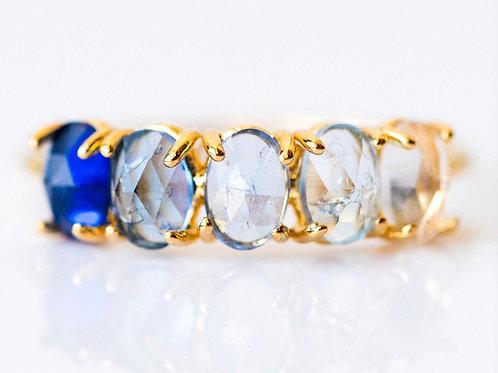 September Ombré Birthstone Ring