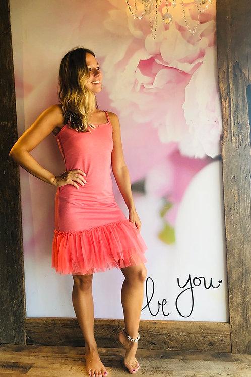 Coral Tutu Dress