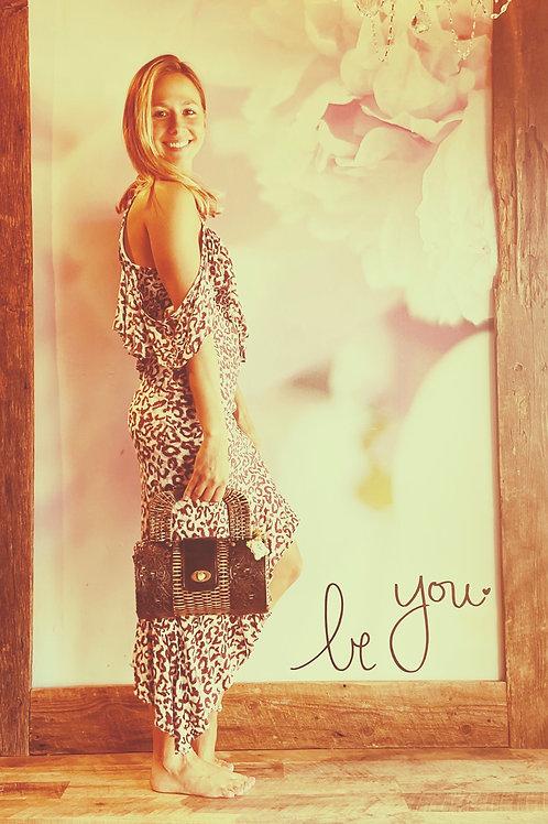 Leopard Hi-Lo Dress