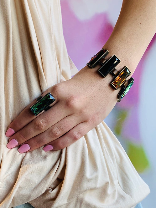 Swarovski Crystal Link Bracelet