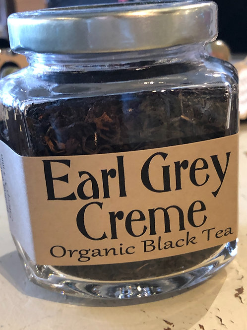 Organic Earl Grey Creme Black Tea