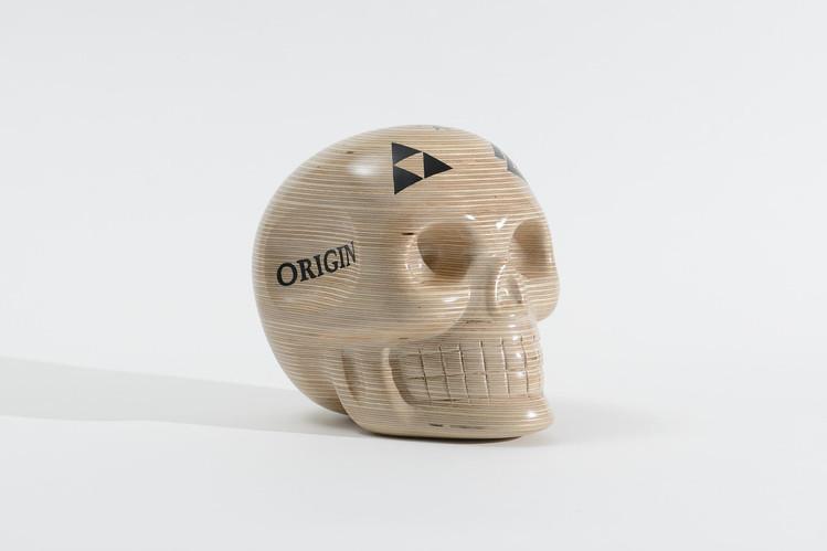 Crystal skull woodie 1