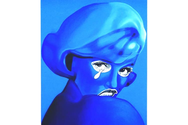 The blue tear