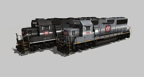 Monongahela & Western Pennsylvania EMD GP60 Pack