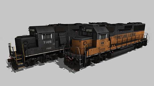 EMD GP60 Pennsylvania & Berwind