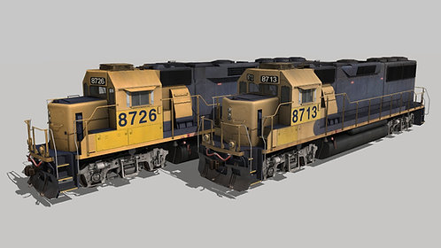 EMD GP60 BNSF Patched Pack