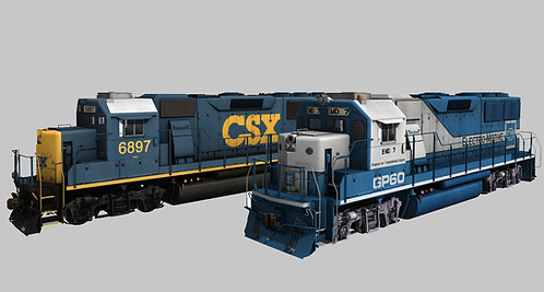 EMDX / CSX GP60 Demo Unit Pack