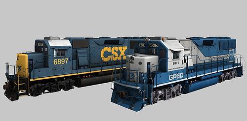 EMDX / CSX GP60 Demo Unit Pack