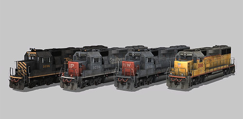 UP/SP/SSW/DRGW GP60 Ph2b Update Pack