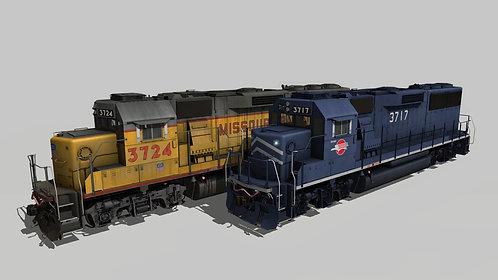 EMD GP60 Phase 2 Missouri Pacific