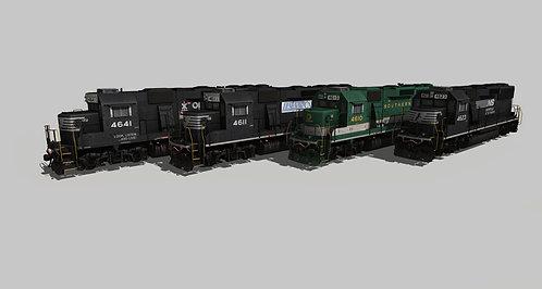 Norfolk Southern EMD GP59 Pack