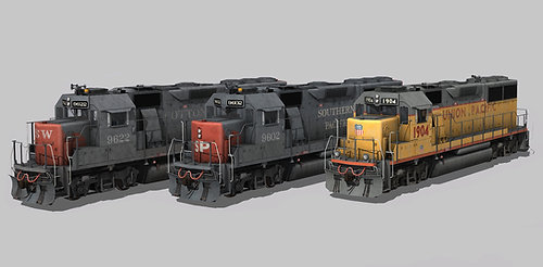UP/SP/SSW GP60 Ph2a Pack