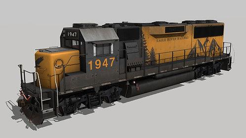 EMD GP60 Phase II Eagle River Railway