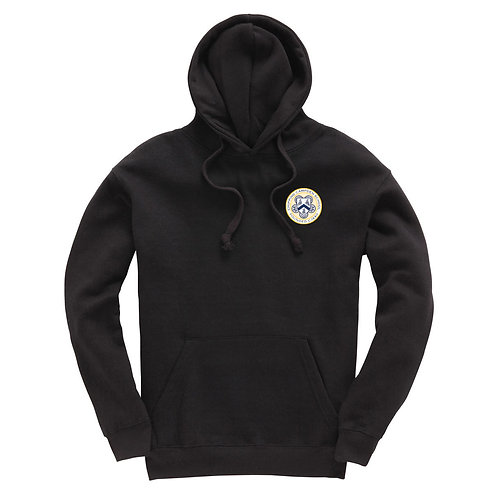 Black Chipping Campden Leavers Hoodie