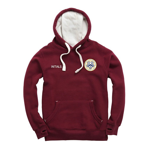 Maroon Chipping Campden Ski Hoodie