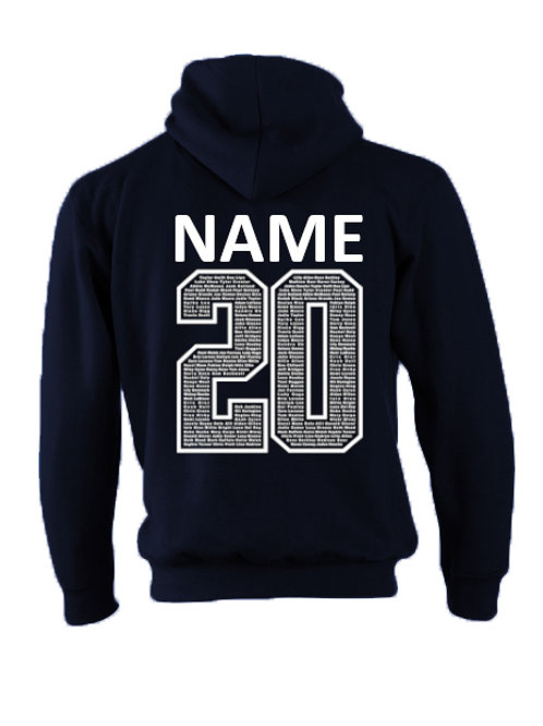 Navy Names 20 Chipping Campden Hoodie