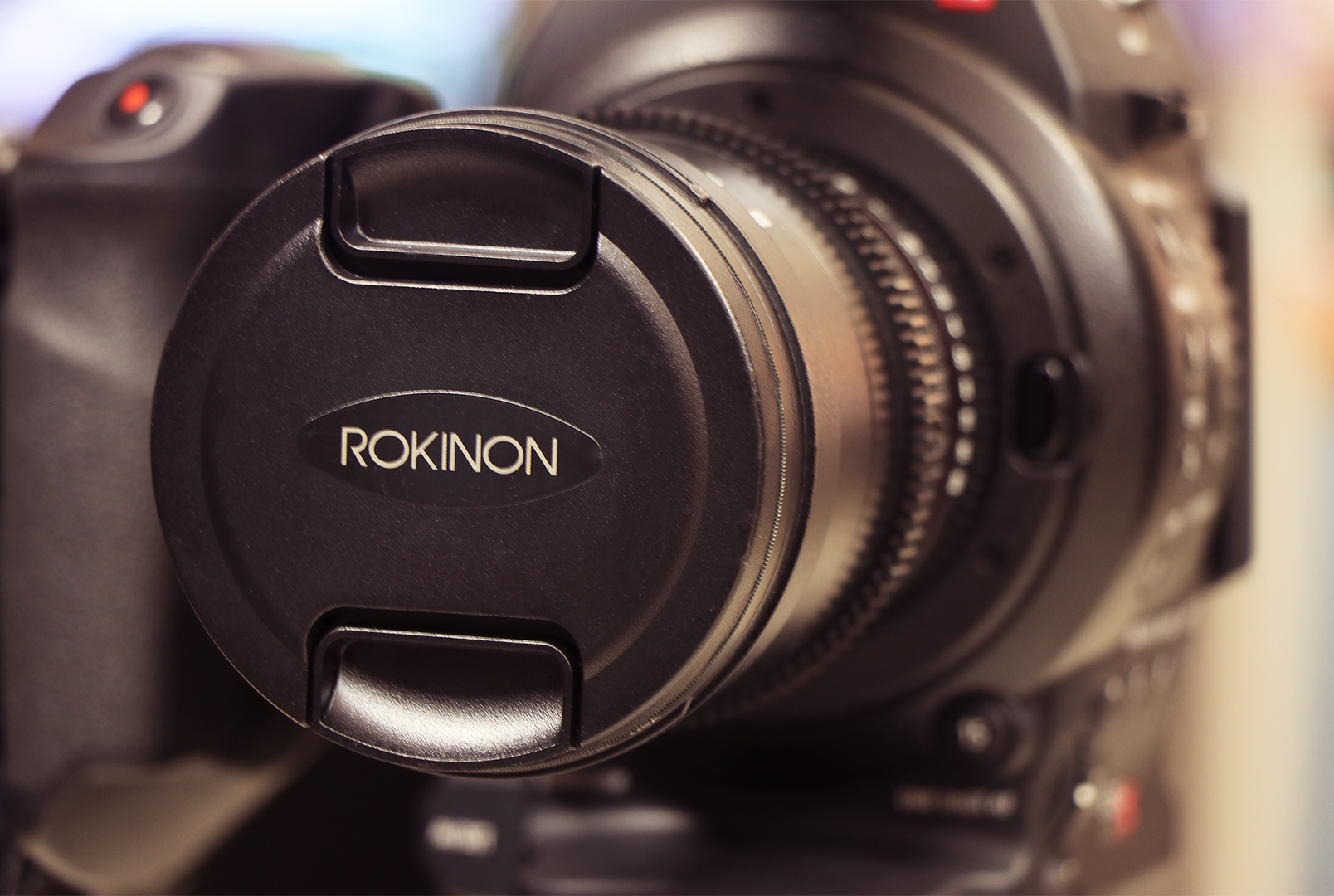 Canon C100 with Rokinon Lenses