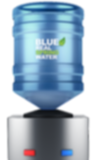 pure cold spring office gallon water bottle